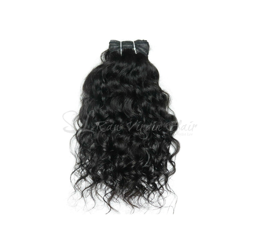 #1 Virgin Indian Natural Loose Curly Hair Bundles for Sew In :SL Raw Virgin Hair