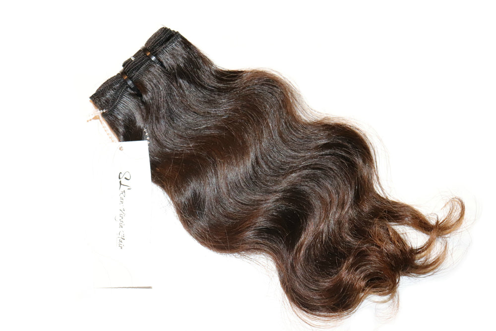 Brown Indian Natural Wavy Bundles