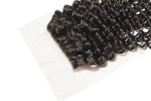 SL Raw Kinky Curly Lace Closure