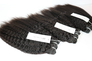 Load image into Gallery viewer, Brazilian Kinky Blowout Hair Bundles for Natural hair girls :SL Raw Virgin Hair