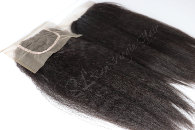 Brazilian Kinky Straight Blowout Lace Closure