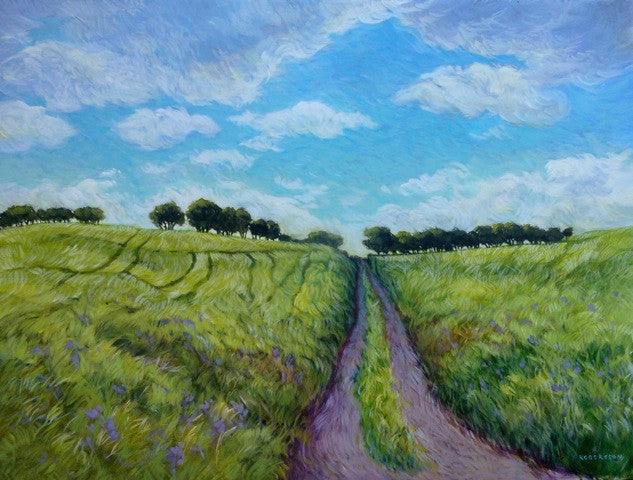 Through the Fields by Janice Robertson