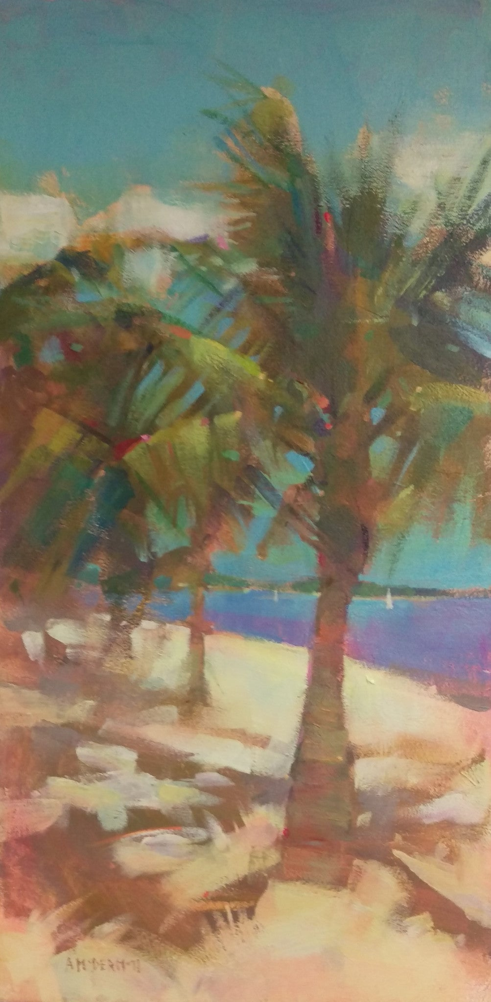 Palm Trees by Andrew McDermott