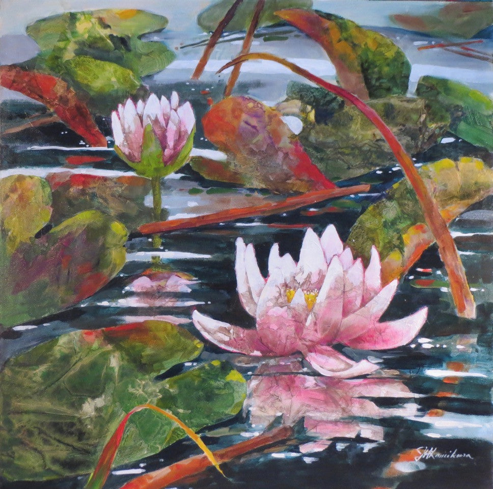 Waterlilies by Joyce Kamikura