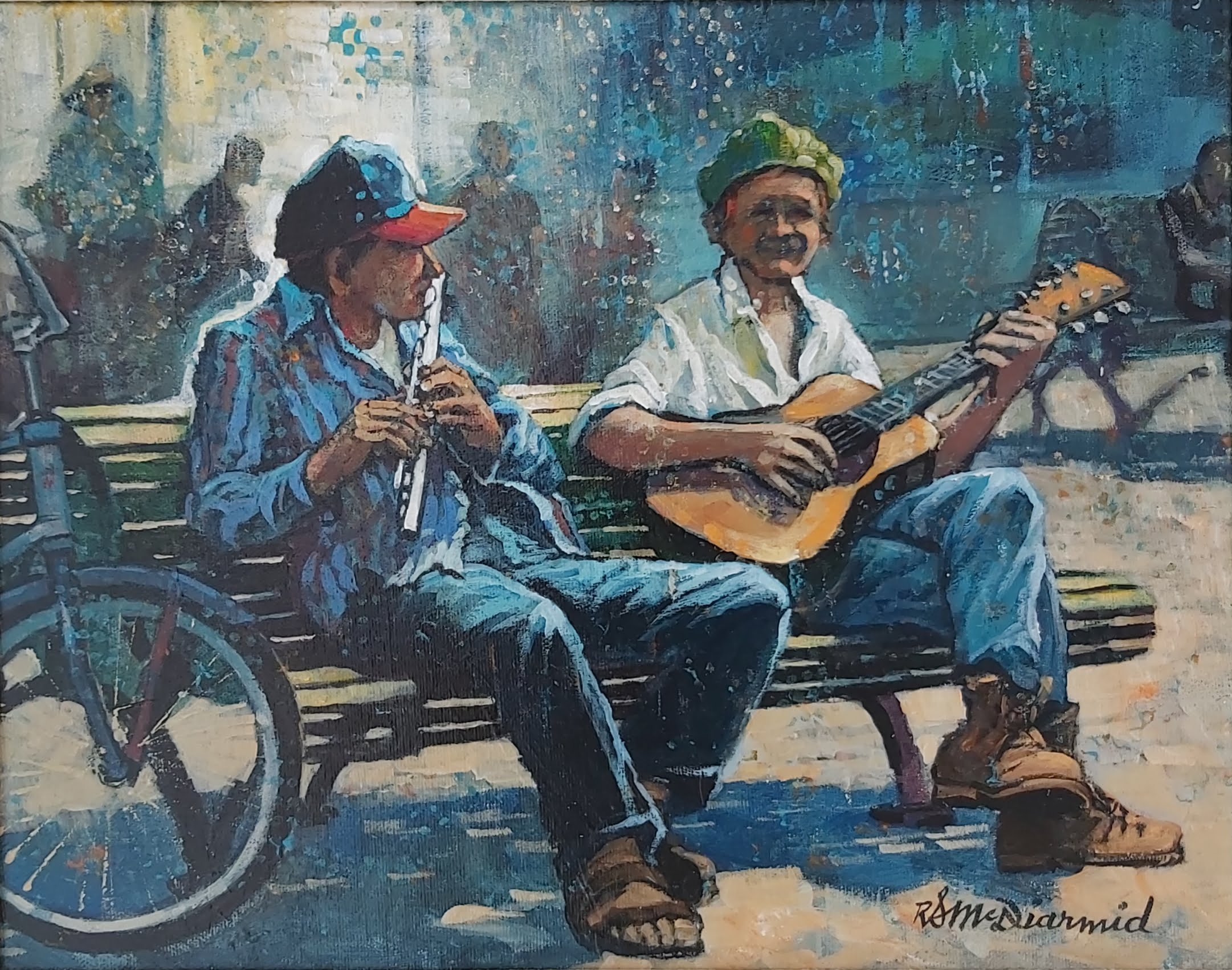 Jackson Square Tunes by Richard S. McDiarmid