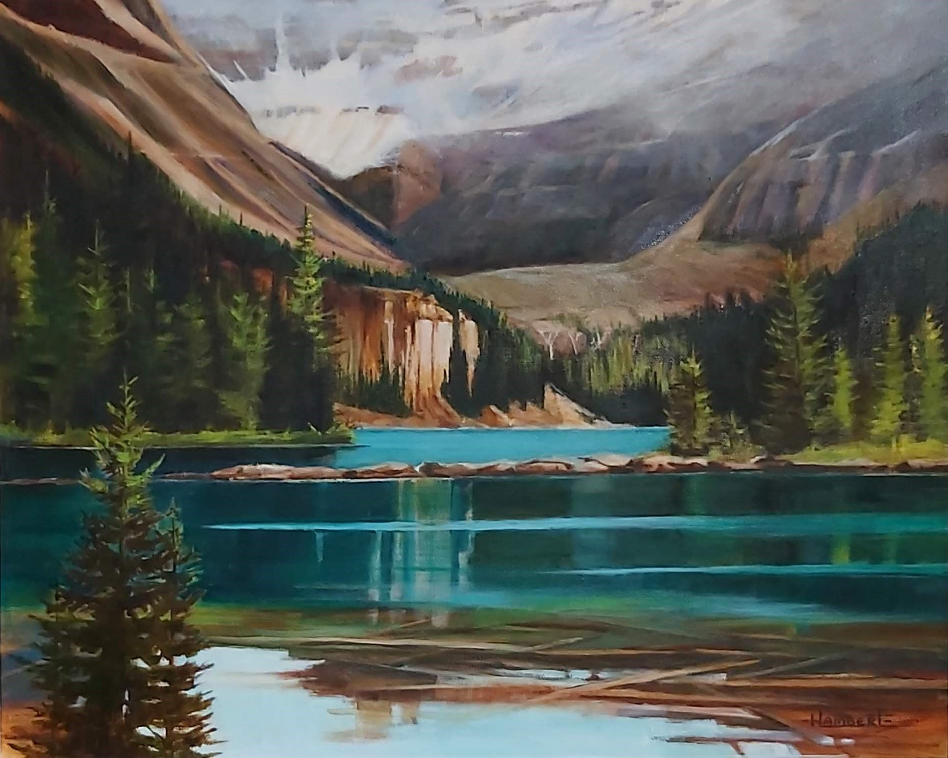 Lake O'Hara by Heidi Lambert