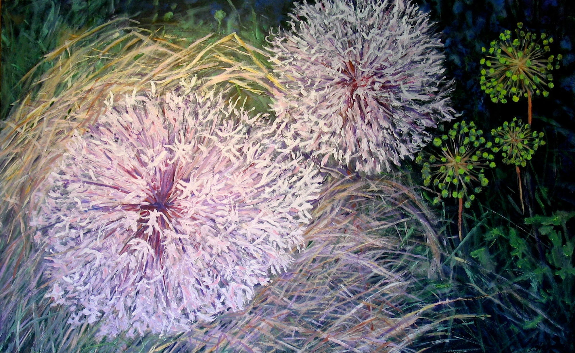 Seed Heads by Loraine Wellman