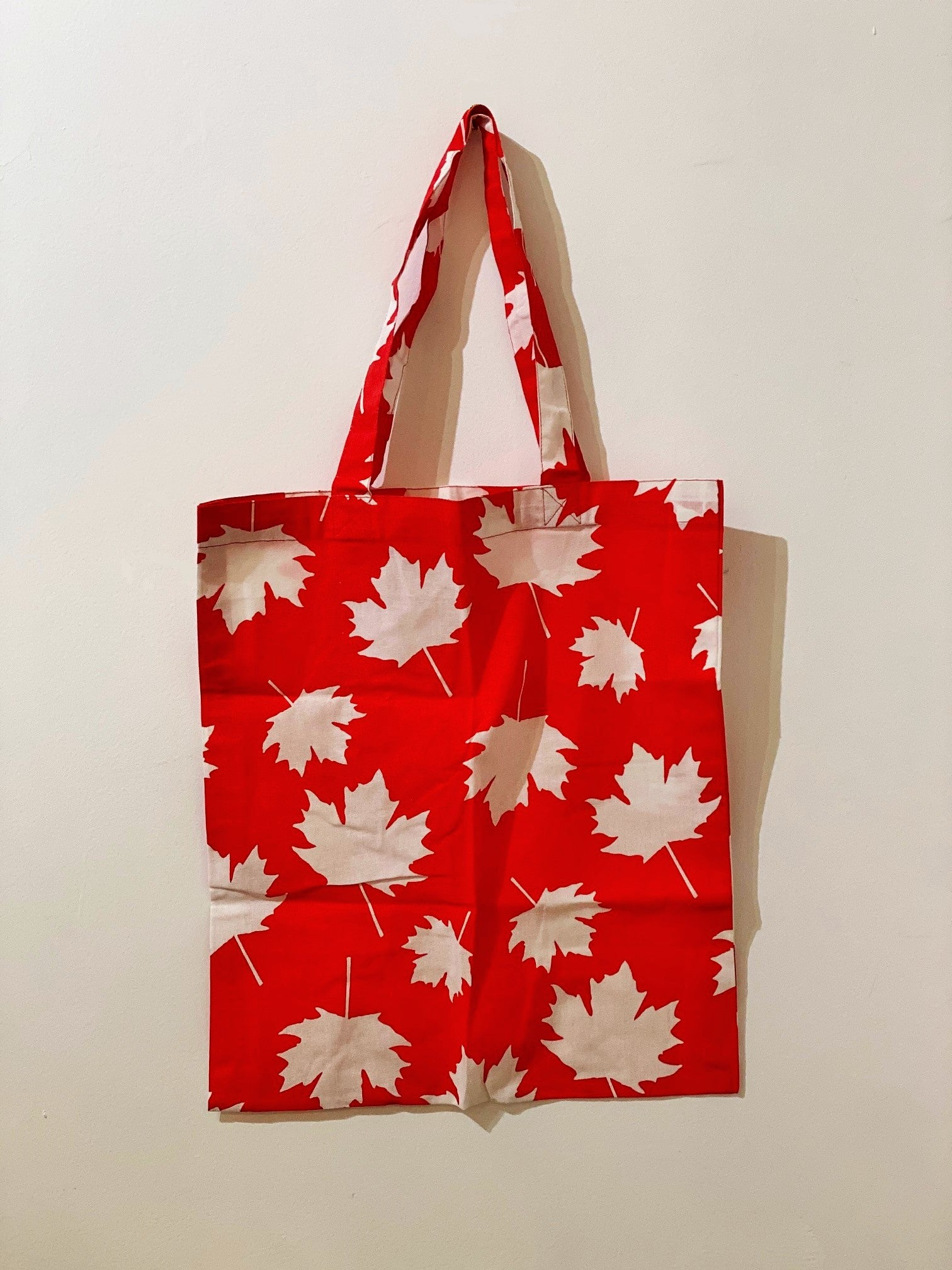 Shopping Bag Maple Leaf