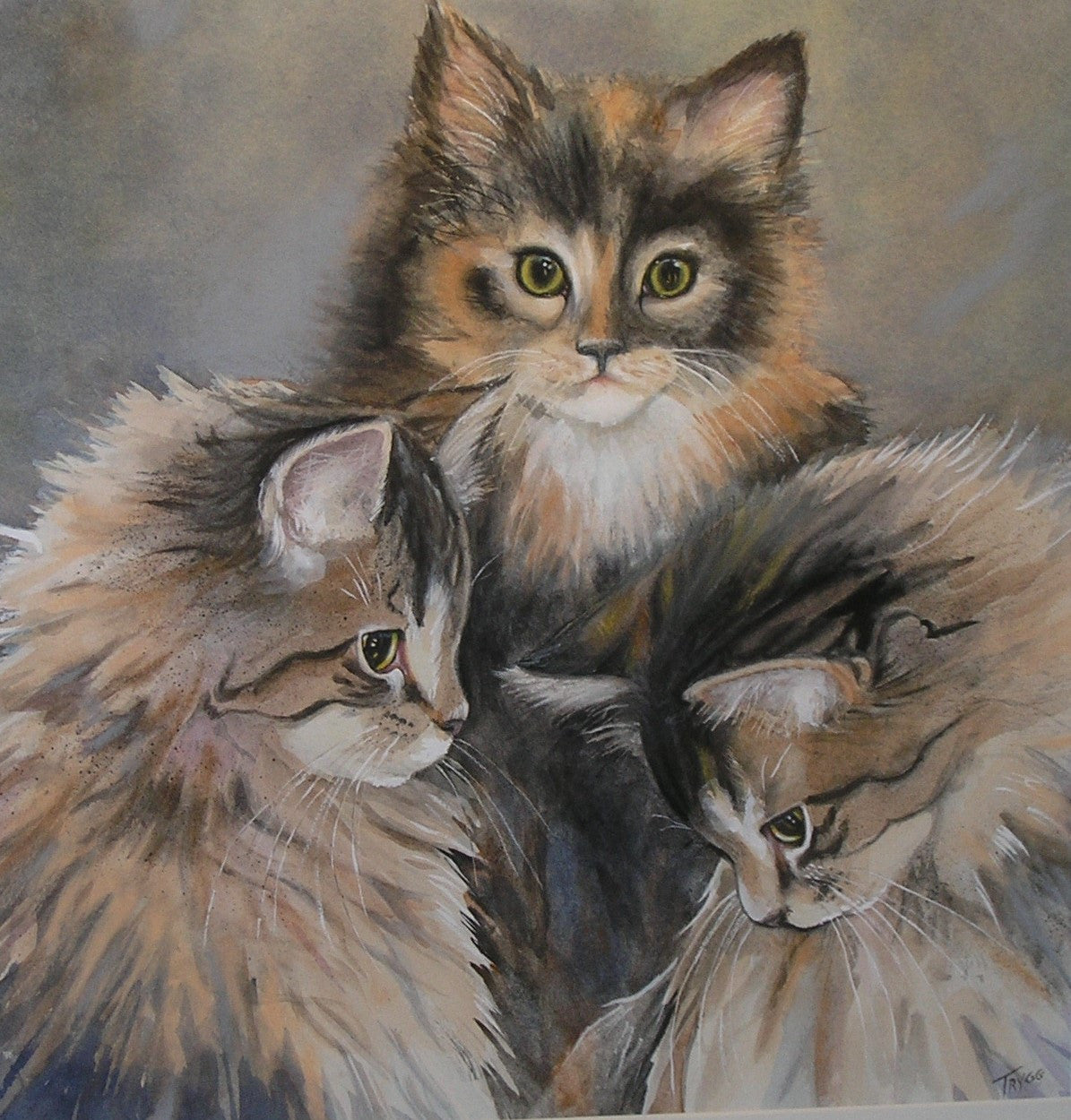 Three Little Kittens by Joyce Trygg