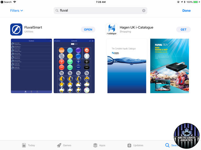 This is the FluvalSmart App On the App Store