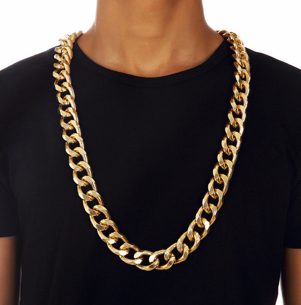 21mm 18K Gold/Silver Miami Cuban Chain [2nd variation]