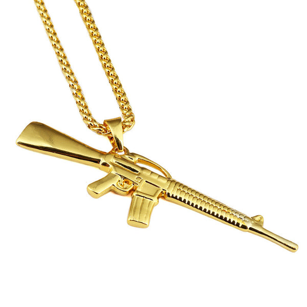 Exclusive 18K Gold M4 Pendant