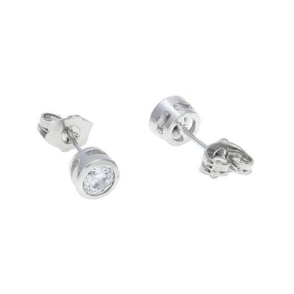 CZ Silver Earrings