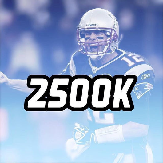 2,500,000 Madden Mobile Coins