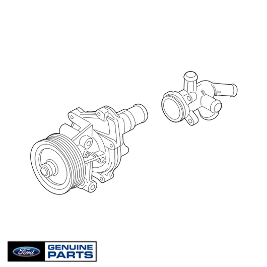 Water Pump | 3.2L Ford Powerstroke