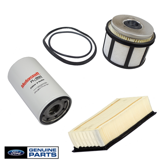 Air Filter, Fuel Filter & Oil Filter Kit | 1998-2003 Ford 7.3L Powerstroke