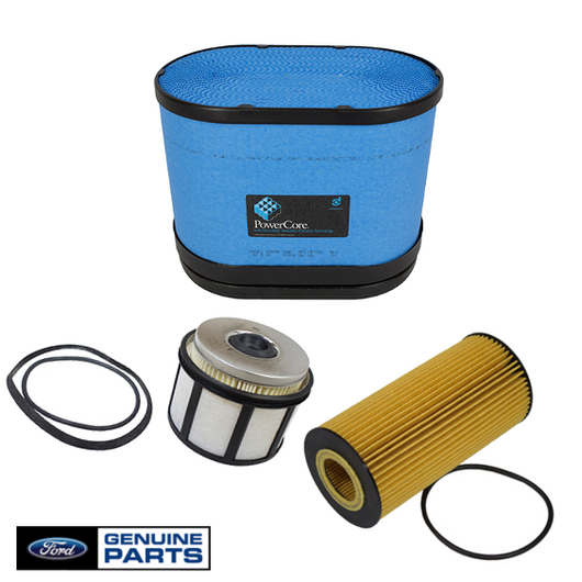 Air Filter, Fuel Filter & Oil Filter Kit | 2003-2007 Ford 6.0L Powerstroke