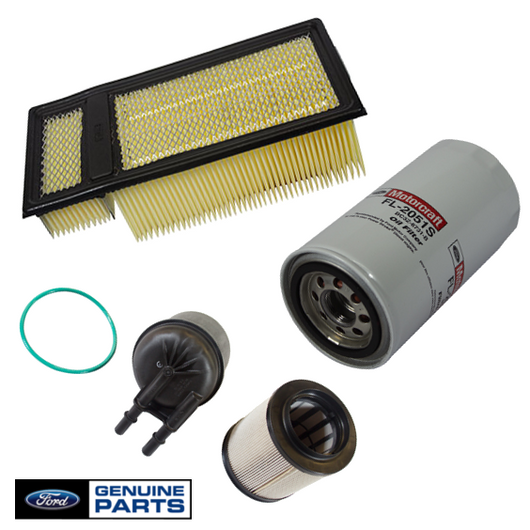 Air Filter, Fuel Filter & Oil Filter Kit | 2011-2015 Ford 6.7L Powerstroke