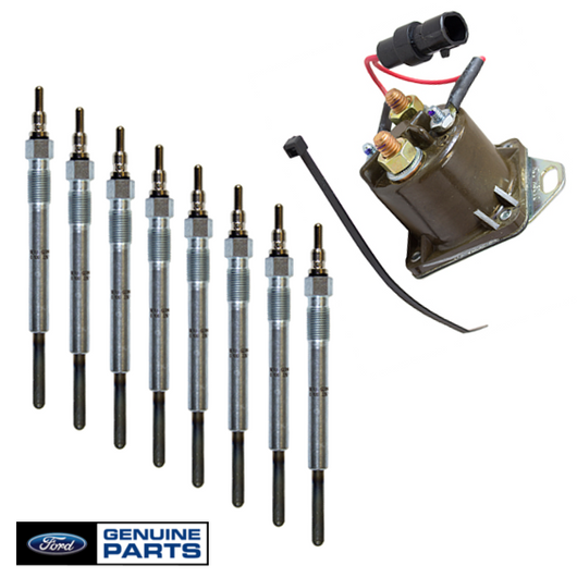 Glow Plug & Controller Kit | 1994-1996 Ford 7.3L Powerstroke