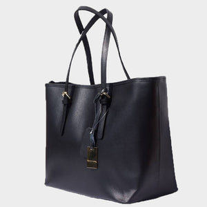 City Girl Saffiano Leather Tote - Large