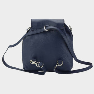 The Convertible Leather Backpack / Cross-Body