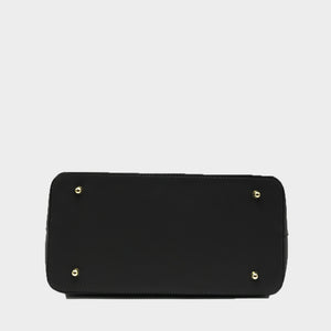 The Suede Flap Satchel / Shoulder Bag