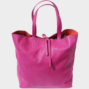 The Ena Leather Tote