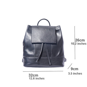 The Soft Leather Backpack
