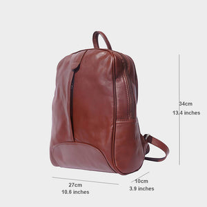 The Smooth Leather Backpack