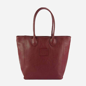 The Trapeze Leather Tote - Medium