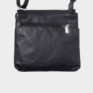 Soft Leather Crossbody / Messenger Bag - Medium Sized