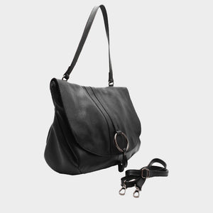 The Messenger Bag with Metal Ring