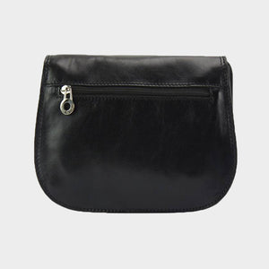 The Sienna Leather Saddle Bag