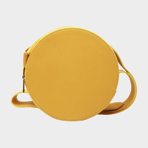 Round Crossbody with Wide Strap