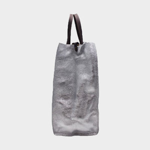 Soft Leather Tote With Organiser - Medium