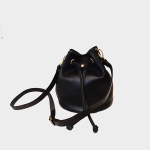 Small Bucket Bag genuine Italian leather