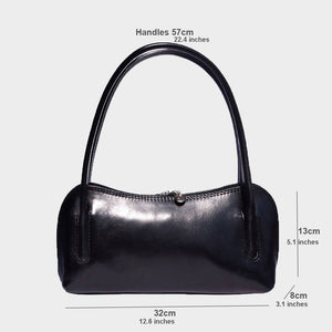 Small Stella Leather Handbag