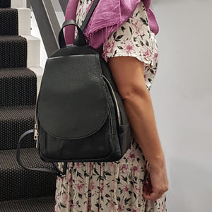 Backpack With Front Flap - Med Size