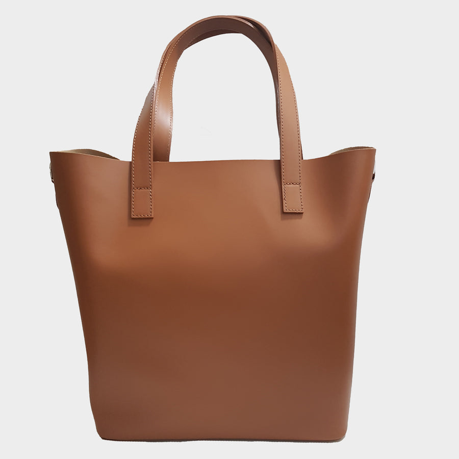 Classic Leather Tote Bag - Large