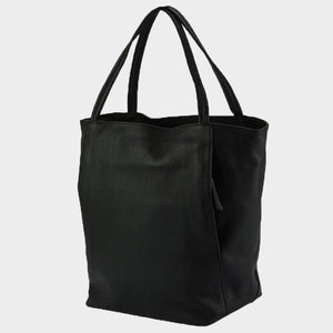 The Classic Leather Tote Bag - Large