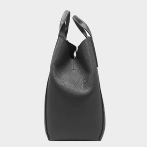 2-IN-1 BUSINESS LEATHER TOTE BAG