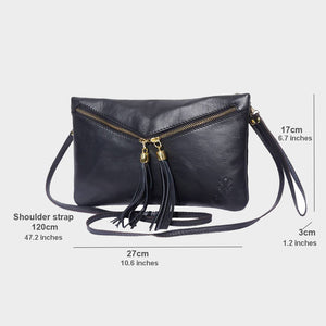 Small Tassel Cross-Body / Clutch