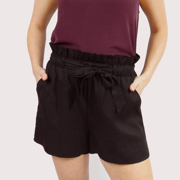 Front Tie Shorts