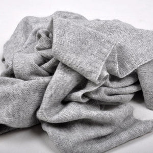 Pure Cashmere Knitted Wrap