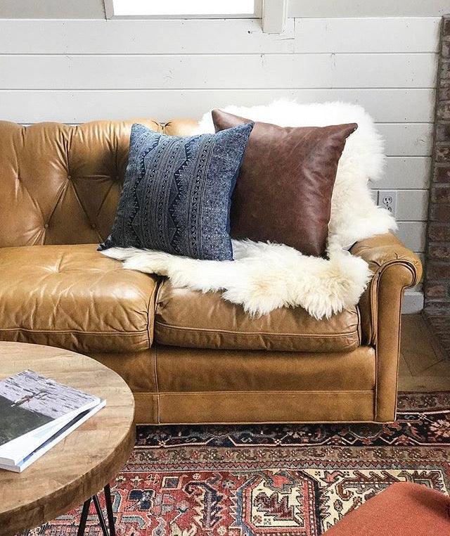 How to Style a Sheepskin Rug