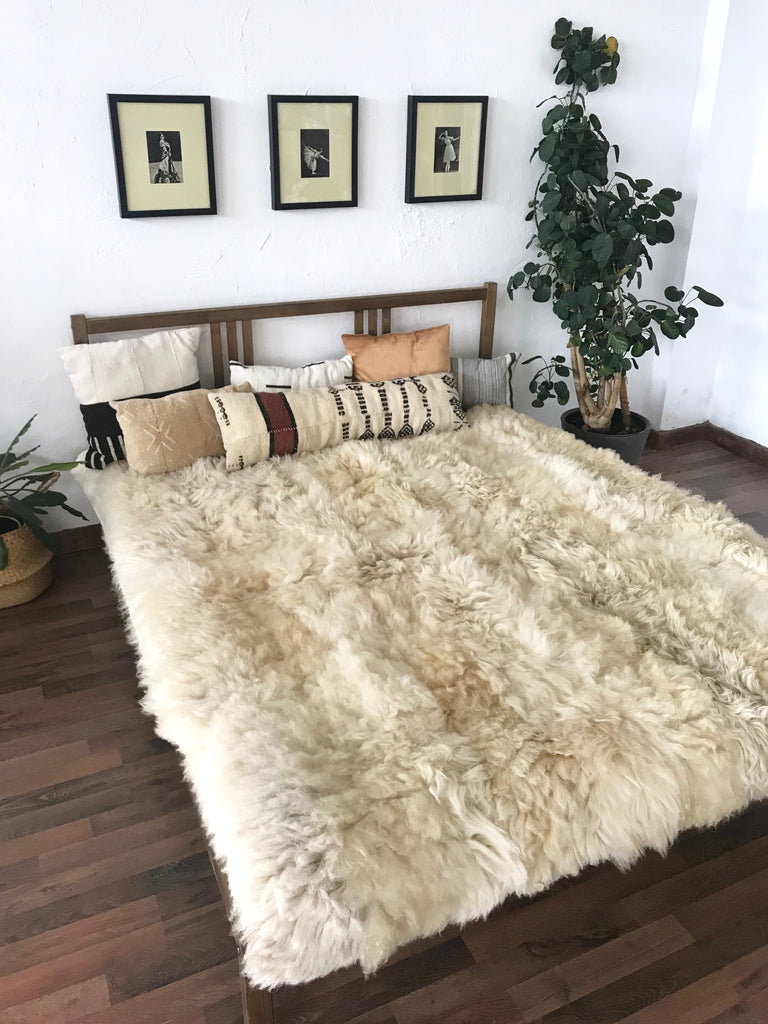 Sheepskin Weighted Blankets for Deep Pressure Stimulation
