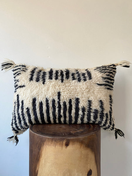 Beni Ourain Wool Pillow #3