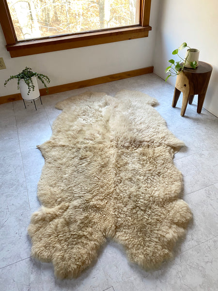 Quad Sheepskin Rug (One-of-a-Kind)