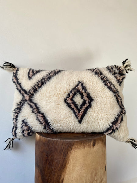 Beni Ourain Wool Pillow #12