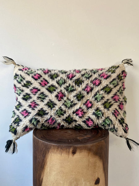 Beni Ourain Wool Pillow #2